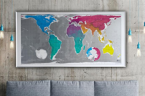 The Huge Map (Magnetic)