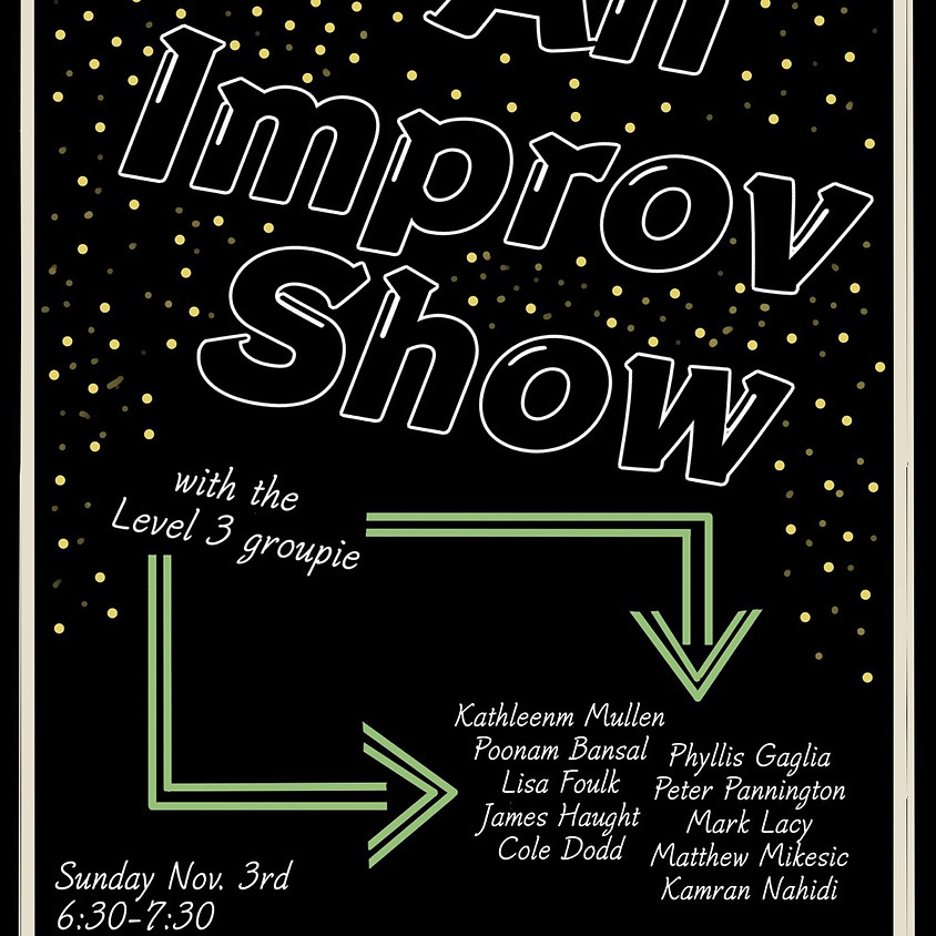 Improv Show level 3 and Master Class