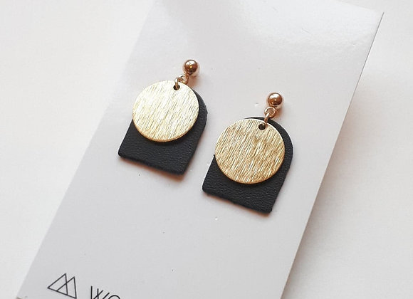 Genuine Leather Handcrafted Artisan Earrings