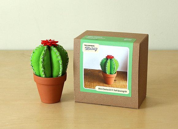 Mini Cactus, Felt Hand Sewing Kit