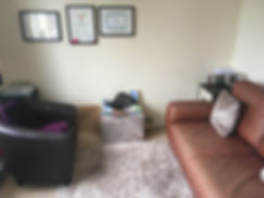 SeeClear Counselling therapy room based in Poole Dorset
