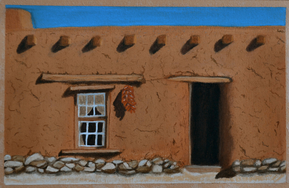 Santa Fe Doorway II