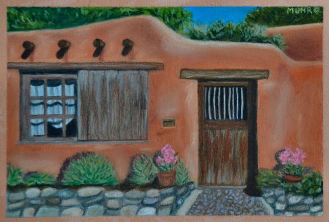 Santa Fe Doorway I (sold)
