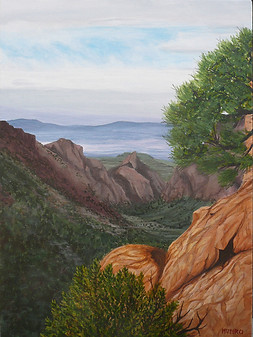 Chisos Basin, Big Bend (sold)