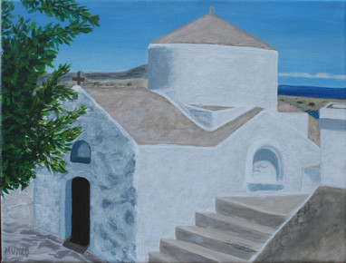 Church in Lindos, Rhodes (sold)