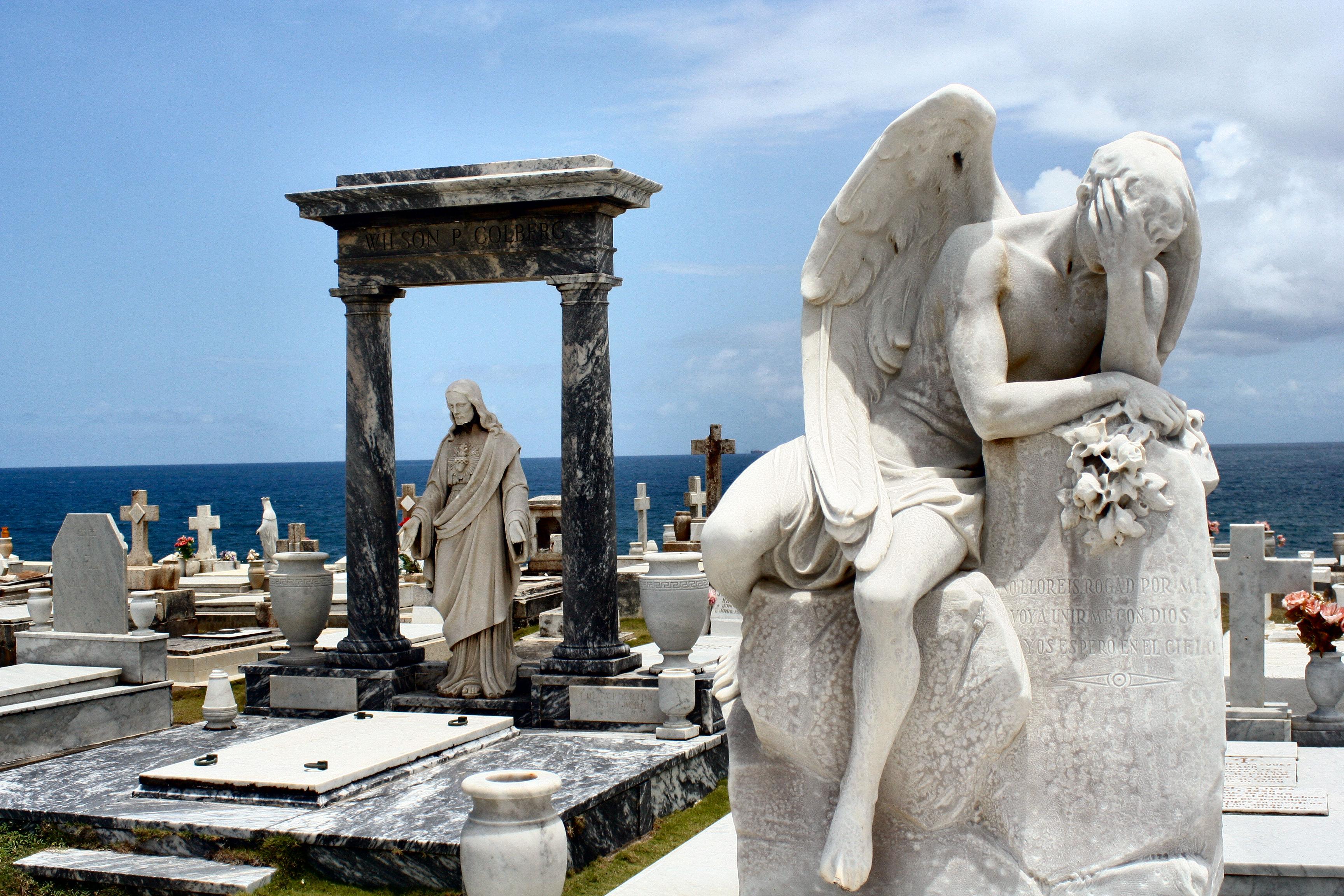Cemetery at El Morro