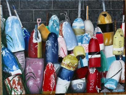 Old Buoys (sold)