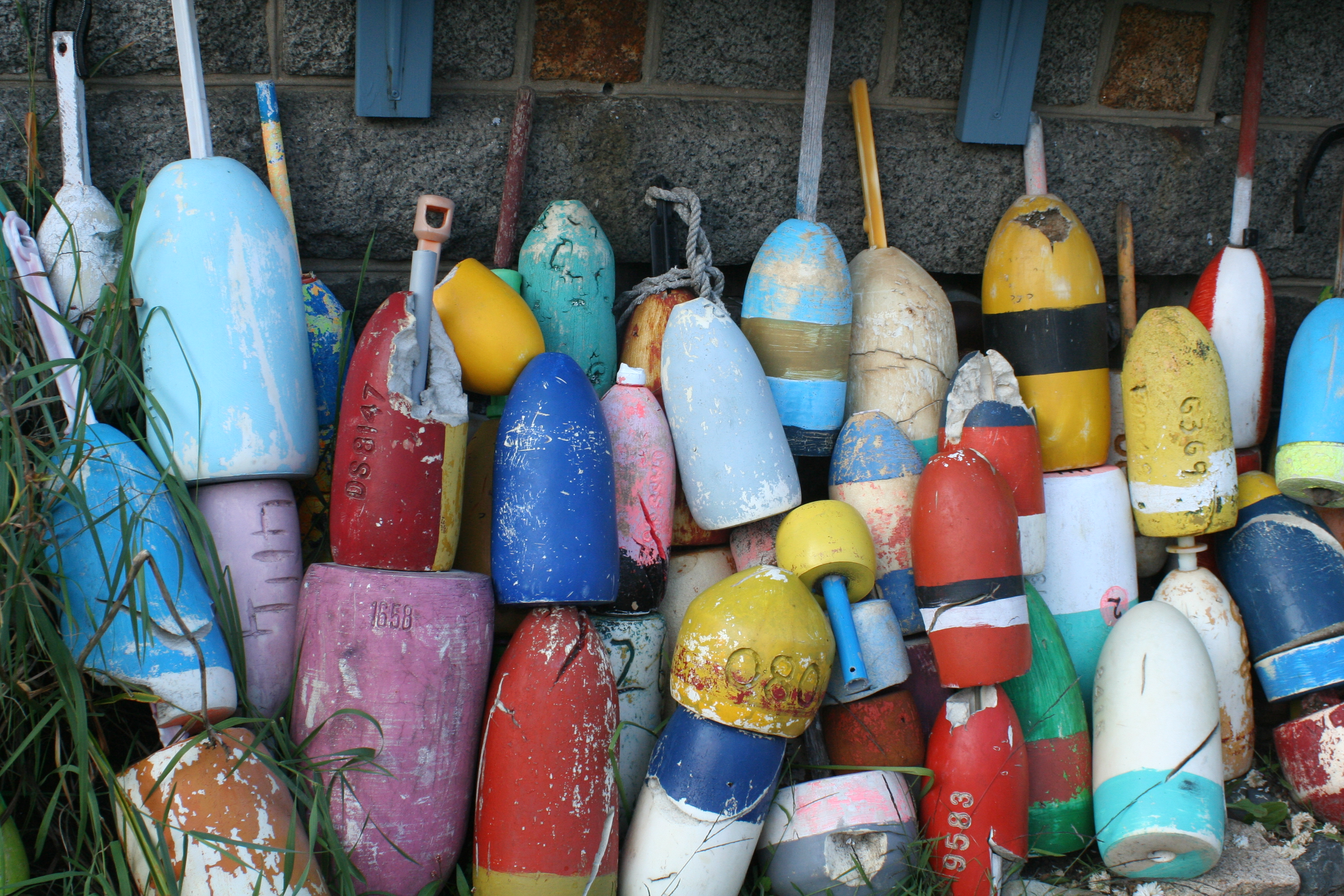 Old Buoys, Cape Ann