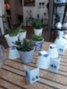 plante céramique Vera Stoefs