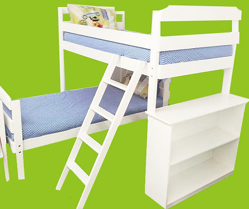 Luke - L Shape  Double Bunk