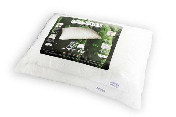 Granulated chipped latex pillows -Twin pack