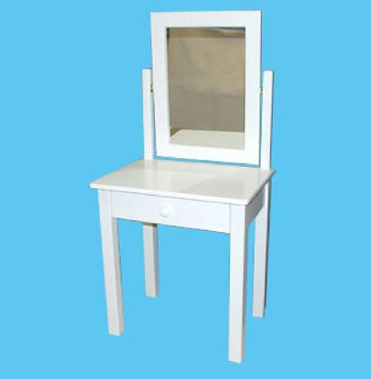 1/2 Dressing Table with Mirror