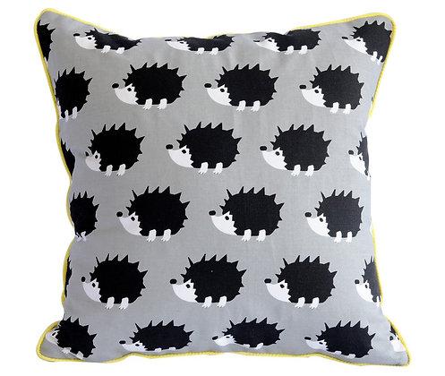 Grey Hedgehog Cushion