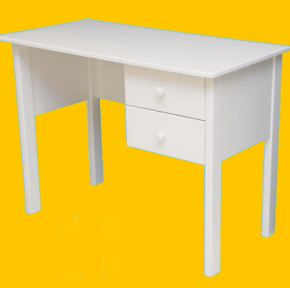 Hi Loft Desk  2 Draw