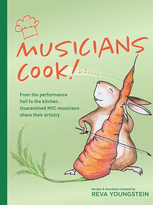 PRE-ORDER Musicians Cook! (Paperback)