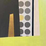 Dialogue series - 3 #workinprogress #goldenpower #contemporaryart #ilianaregueiro #detail #abstractart #contemporaryartist #gold