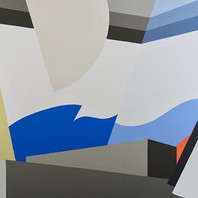 Dialogue #40 Acrylic on canvas 120x180  #ilianaregueiro #dialogueseries  #contemporaryart #organicgeometry #geometricart #abstractart #depth