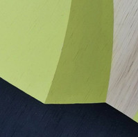 Lime & olive green. Acrylic on wood. Detail.jpg