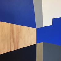Dialogue #60.Detail. Acrylic on wood. #construction #geometry #blue #contemporaryart  _ilianaregueiro _bensignor.jpg