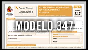 Modelo 347 para comunidades de propietarios