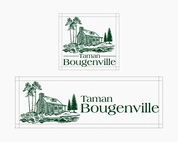 Taman Bougenville Brand-identity Guideli