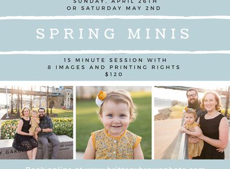 2020 Spring Minis Announced!