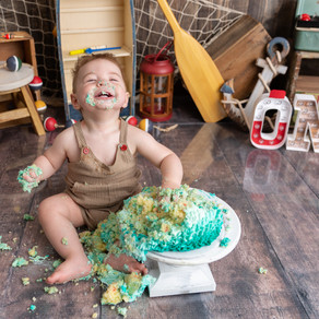 Archie // Cake Smash