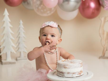Ava // Cake Smash