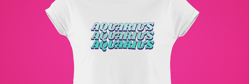 AQUARIUS CROP TOP