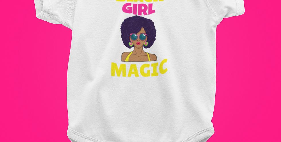 BLACK GIRL MAGIC ONESIE