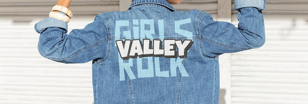 VALLEY GIRLS ROCK DENIM JACKET