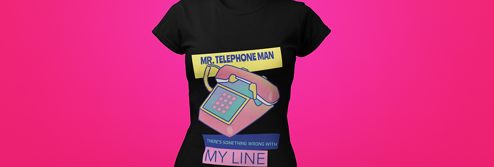 MR TELEPHONE MAN T-SHIRT