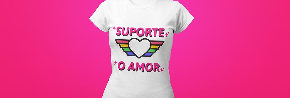 SUPORTE O AMOR T-SHIRT