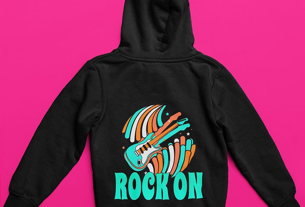 ROCK ON HOODIE
