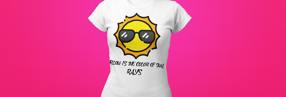 YELLOW IS THE COLOR T-SHIRT