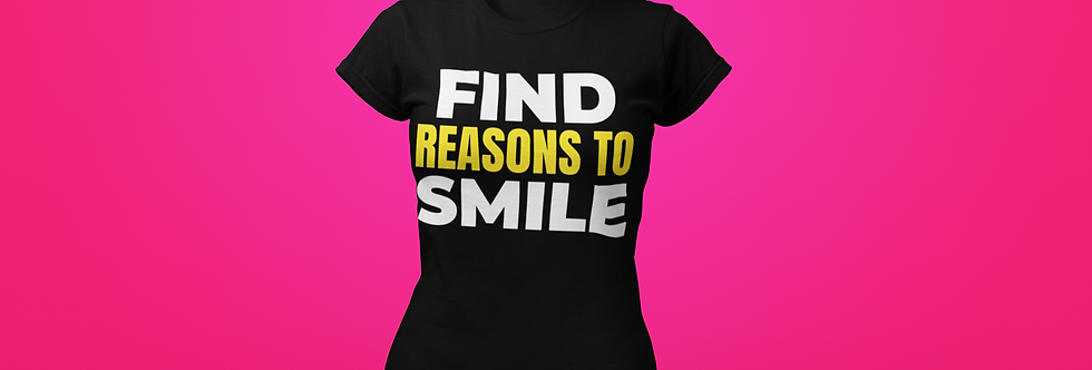 FIND REASONS T-SHIRT