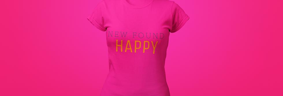 NEW FOUND HAPPY T-SHIRT