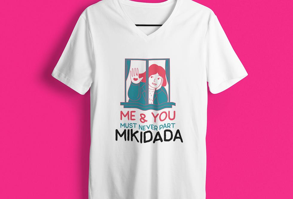 MIKIDADA V-NECK