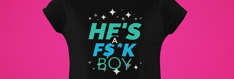 F$*K BOY CROP TOP