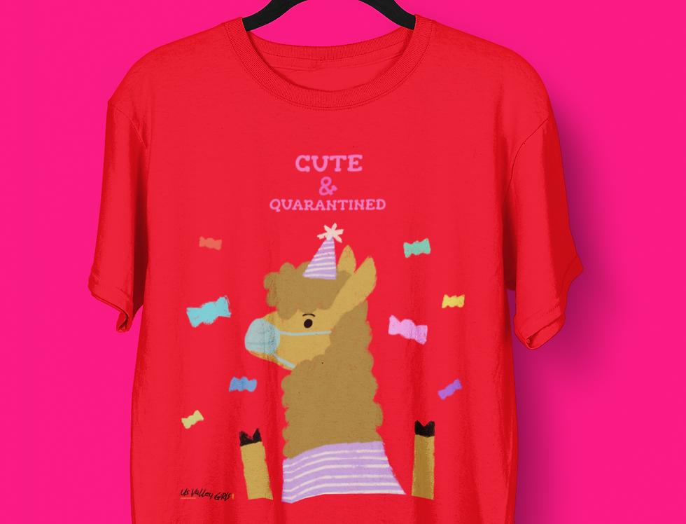 CUTE & QUARANTINED T-SHIRT