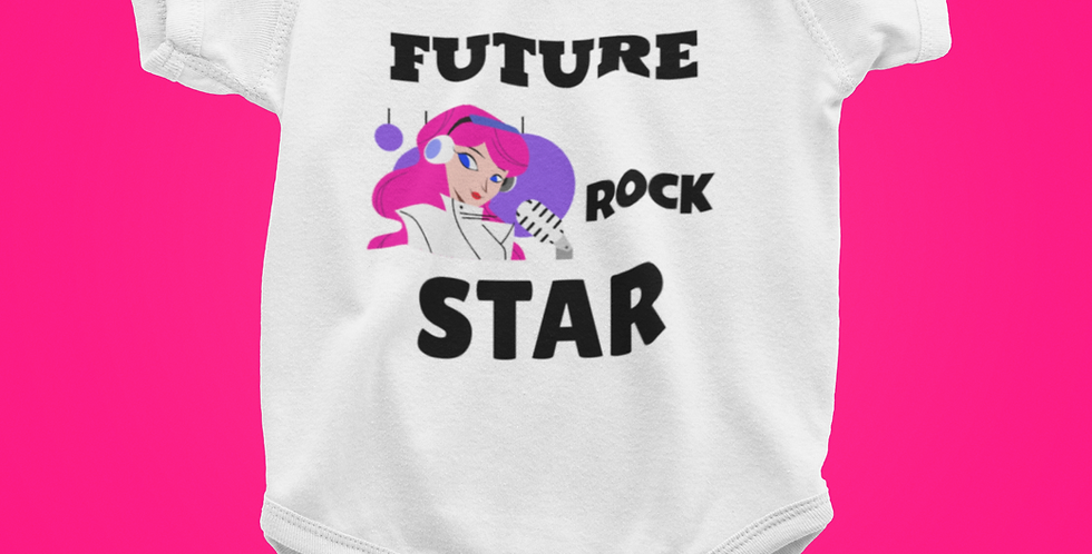 FUTURE ROCK STAR ONESIE
