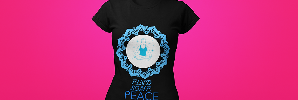 FIND SOME PEACE T-SHIRT