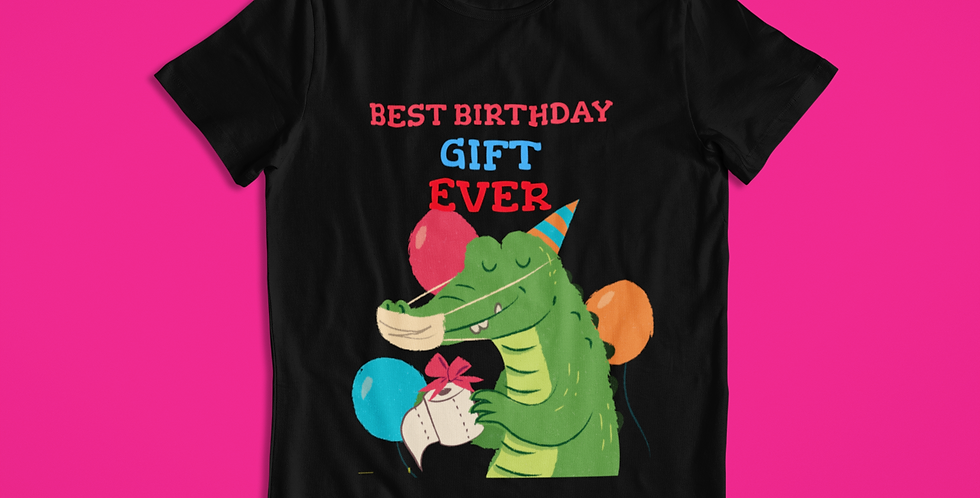 BEST BIRTHDAY T-SHIRT KIDS