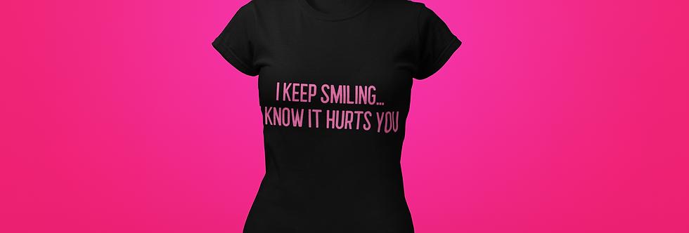 I KEEP SMILING T-SHIRT