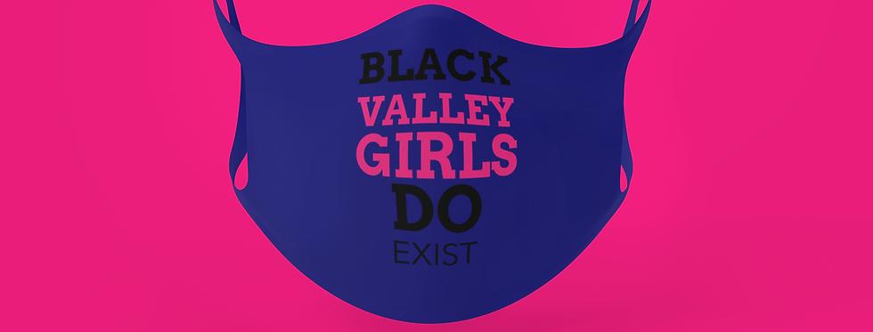 BLACK VALLEY GIRL MASK