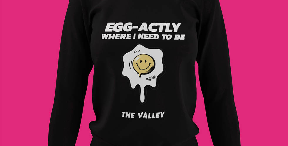 EGG-ACTLY SWEATSHIRT