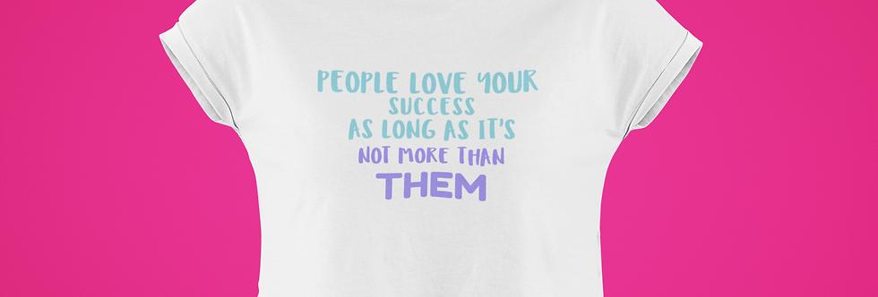 SUCCESS CROP TOP