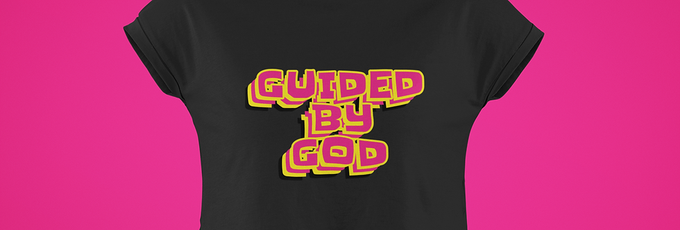 GUIDED BY GOD CROP TOP