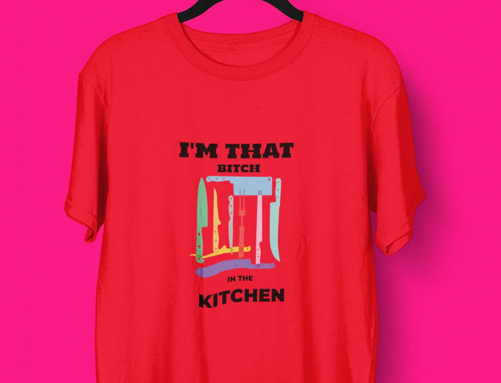 IN THE KITCHEN T-SHIRT