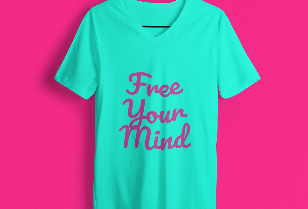 FREE YOUR MIND V-NECK